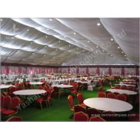 Quality Decorated Backyard / Garden Big Wedding Tents High Strength For 1000 People for sale