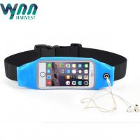 China 6 Inch Outing Sport Waist Pouch With Clear Window Portable For Phone on sale