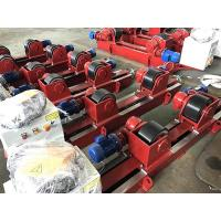 Quality 10T  Lead Screw Conventional Welding Roller Stands, Pressure Vessel Welding Rotator for sale