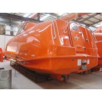 Quality Totally Enclosed 20 pax lifeboat with lifeboat davit For Sale for sale