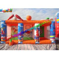 Quality Indoor Outdoor Inflatable Sports Games Bowling Basketball Dart Popular for sale