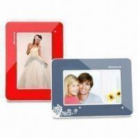 Quality 7-inch Digital Photo Frame with 800 x 480 Pixels Resolution, and G-sensor Function for sale