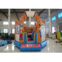 Quality Double Stitching Pirate Ship Bounce House 5 X 5 X 4m , Professional Small Jump House for sale
