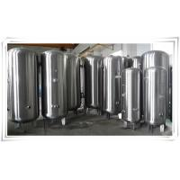 Buy Stainless Steel Air Compressor Receiver Tank 60 Gallon / 80 Gallon / 100 Gallon at wholesale prices