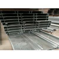 SGS / BV Hot Rolled Black Iron Mild Steel C Channel with Galvanized Surface treatment for construction material for sale