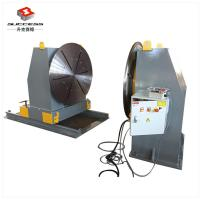 Quality Head / Tail Stock Pipe Welding Positioners , Welding Turn Table For Drivers Beam 360 Tilting Angle for sale