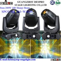 Buy cheap 280W 10R Sharpy Beam Moving Head (Spot+Wash+Beam) from wholesalers