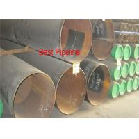 Quality X46 PSL2 API 5L UOE Steel Pipe , Welded Polyethylene Coating Line Pipe for sale
