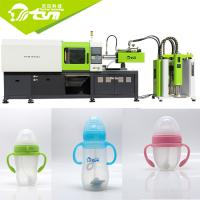 China 12kw Servo Motor Automatic Silicone Injection Molding Machine For Baby Feeder Bottle on sale