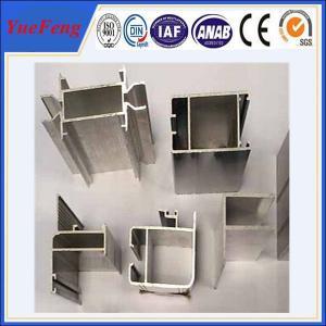 Quality aluminum extrusion for casement windows, customized aluminium powder coating window frame for sale