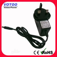 Quality High Efficiency 9W 9V 1A Wall Mount Power Adapter For DVD Player , 50-60Hz for sale