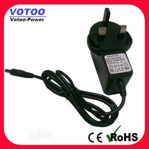 China Wall mount Universal AC Adapter 12V 1.5A 5.5x2.1mm Barrel Plug , AC DC Universal Adapter on sale