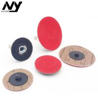 Quality Metal Roloc Polishing Discs , Quick Change Sanding Discs 2 Inch 3 Inch High Speed for sale
