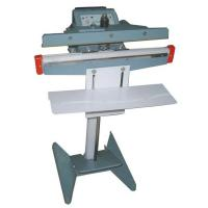 China Aluminum body Foot Stamping Sealing Machine on sale