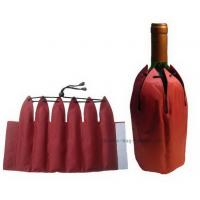Quality Non Toxic Insulated Wine Bag 38*23.5cm Size Promotional Bevarage Freezer for sale