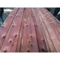 Buy cheap Sliced Natural Aromatic Red Cedar Wood Veneer Sheet from wholesalers
