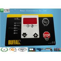 Quality Matte Or Glossy Membrane Switch Overlay , PET 0.2 Mm Transparent Custom Graphic Overlay for sale