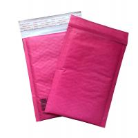 Red Kraft Paper Padded Shipping Envelopes , Self Sealing Shipping Bubble Mailers for sale