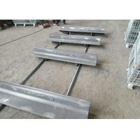 Quality Cr-Mo Alloy Bucket Casting Cap Rail for Grinding Mill Elongation More Than 10% for sale