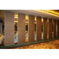 China Folding Acoustic Partition Wall Commercial / Soundproof Mobile Partition Walls Malaysia on sale