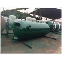 Quality Large Volume Compressed Air Storage Tank , 8 Bar - 40 Bar Portable Air Compressor Tank for sale