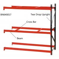 China Step Beam Style Teardrop Pallet Rack Shelving 2000 Lbs – 7000 Lbs Capacities on sale