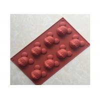 China Food Safety, Mickey Mouse , Multi-Cavities , Silicone Chocolate Mold on sale