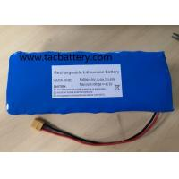 Buy cheap INR18650 Li-ion Battery Pack 36V 10AH with high power dishcarge current For EV from wholesalers