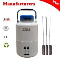 Portable cryogenic dewar tank 3L liquid nitrogen tank for sale