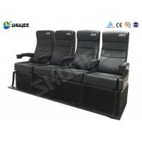Buy Electric Dynamic System 4D Cinema Equipment Red / Black Cinema Chair For Theater at wholesale prices
