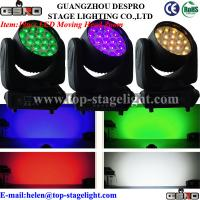 Quality 19pcs*10W LED moving head wash with zoom for sale