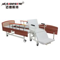 Quality Simple Design Manual Wheelchair Transfer Bed Anti - Rust Stable Steel Beadboard for sale