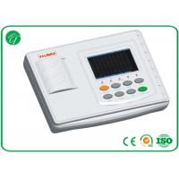 China 3 Functions 5 Inches Portable ECG Machine White Color LCD Display on sale