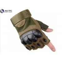 Quality Riding Law Enforcement Gloves , Hardened Knuckle Gloves Protective High Octane Activity for sale