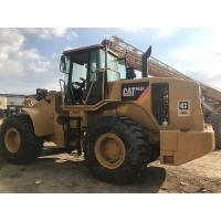 New Paint  Used CAT Loaders , Wheel Loader Cat 966h Well Maintenance A/C Cabin