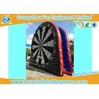 Quality 6mH Giant Inflatable Sport Games Dart Board Outdoor For Children / Adult for sale