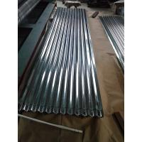 Quality GI Tile 0.2 x 836 mm Galvanized Steel Coil Galvanised Corrugated Steel Sheet for sale