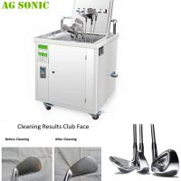 Quality Mobile And Transportable Ultrasonic Golf Club Cleaner Golf Club Sonic Cleaning Machine for sale