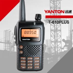 China YANTON T-610PLUS 5W 128 Channels Handheld Ham Radio on sale