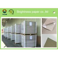 Quality Offset Printing 0.42mm Thick Paper Board Duplex Board Grey Back Single Side Coat for sale