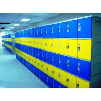 Buy cheap Red School Lockers With Keyless Lock , Factory price plastic employee ABS from wholesalers