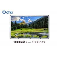 Quality 65 Inch 500 Nit Digital LCD Open Frame Monitor Outdoor Sunlight Readable for sale