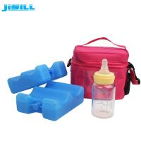 Quality Non Woven Insulated Freezable Cooler picnic waves sheet Ice cream Lunch milk bottle children Bag for sale