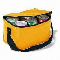 Quality Six Can Cooler Bag, Made of 70D Polyester, with PVC Lining and Foam for sale