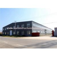 Popular Prefabricated Steel Warehouse GB Standard For Long Span Building for sale