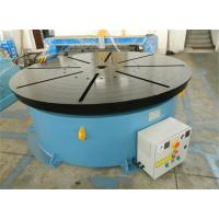 Quality Horizontal Welding Motorized Rotary Table Positioner 10 T for 1400 mm Table Diameter for sale