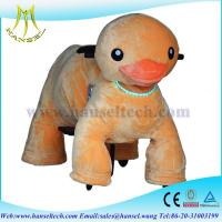 Quality Hansel Factory price walking animal toy rides,sit on animals for fun for sale