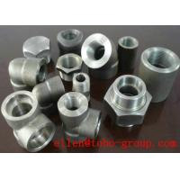 Quality ASME B16.11 SW 45 Degree Elbow Stainelss Steel Pipe Fittings DN6 - DN100 3000LB for sale