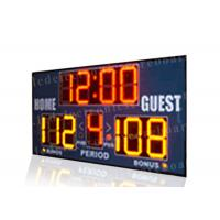 Quality Easy Installation Basketball Portable Scoreboard , Basketball Score Clock With Brackets for sale