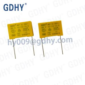 Quality EMI Suppression X2 Capacitor Non Inductive Winding Structure 0.68uF 684nF for sale